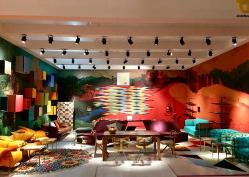 A Conteúdo no Salão de Móveis de Milão 2018
